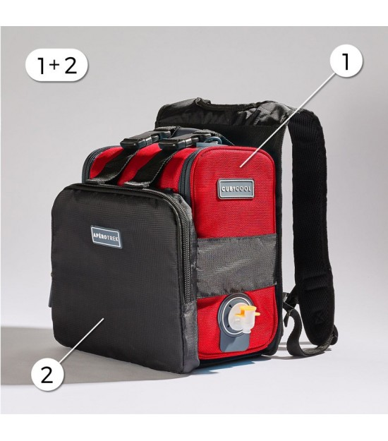 HIKING PACK RED