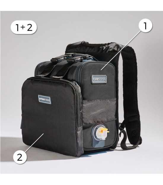 HIKING PACK GREY