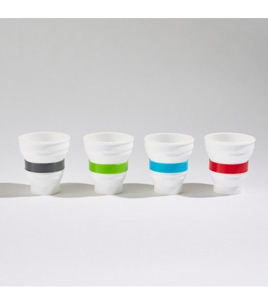 4 foldable cups