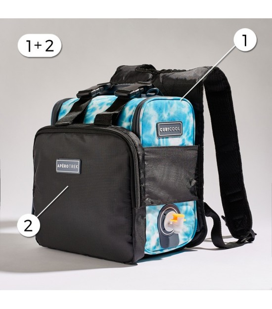 HIKING PACK TIE AND DYE