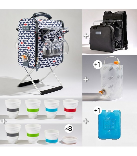 Hiking Pack XL Little Fish