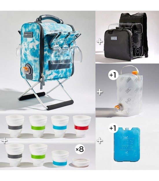 Hiking Pack XL Tie and Dye